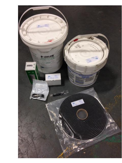 Sewage Treatment Plant Spares Kit